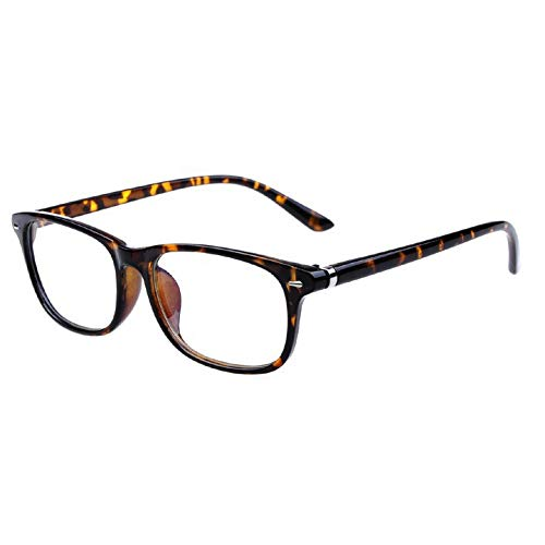 YMTP Frauen Print Gläser Clear Frame Ultra Light Brillen Rahmen Schmücken Gläser Ohne Objektiv Student