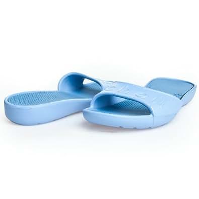 Scholl Hydra Step f22958(Bleu 1032) Chaussons Mules à chaussons bleu Blue EU 36
