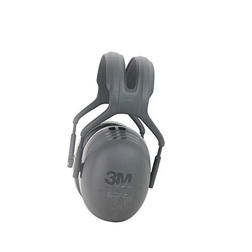 MISHUAI Schalldichte Ohrenschützer Kopfhörer X5A Industrieller Gehörschutz Rauschunterdrückung Lärmgeschützte Ohrenschützer am Kopf (Color : Photo Color)