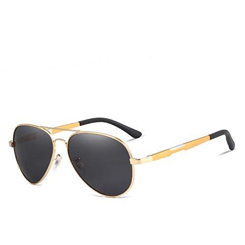 ZHOUYF Sonnenbrille Fahrerbrille Männer Hd Polarisierte Sonnenbrillen Aluminium Magnesium Driving Sonnenbrillen Herren Klassische Marke Sonnenbrillen Zubehör, C