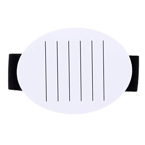 Sharplace Palette de Cils Acrylique Outil d'Extensions de Cils pour Organisateur de Maquillage Présentoir Salons de Beauté Professionnels