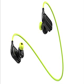 BUHWQ Bluetooth headset Motion heart rate running real-time monitoring of ear plug music mobile phone line control