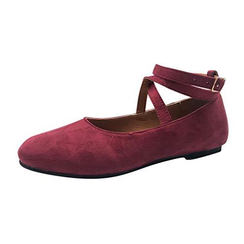 Strungten Damenmode Lässig Römischen Runden Kopf Kreuzgurt Schnalle Schnalle Einzelne Schuhe Sandalen Flache Schuhe Leopard Sandalen