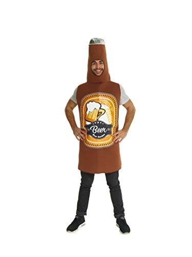 Bierflaschen Kostüm - Uni Größe (Bierflasche Halloween-kostüm)