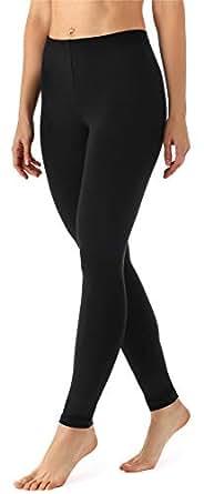 Merry Style Legging Long Pantalon Tenue de Sport Vêtement Femme MS10-143 - Noir - Taille 36 (Taille du producteur: XS)