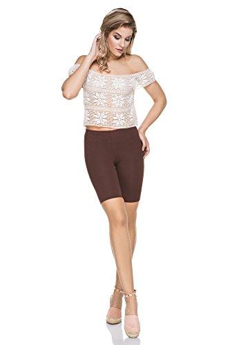 FUTURO FASHION - Legging - Femme marron marron Marron