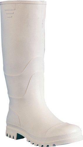Gummistiefel PVC Stiefel Metzger - 35055 - Größe: 46 (Weiß Herren Stiefel)