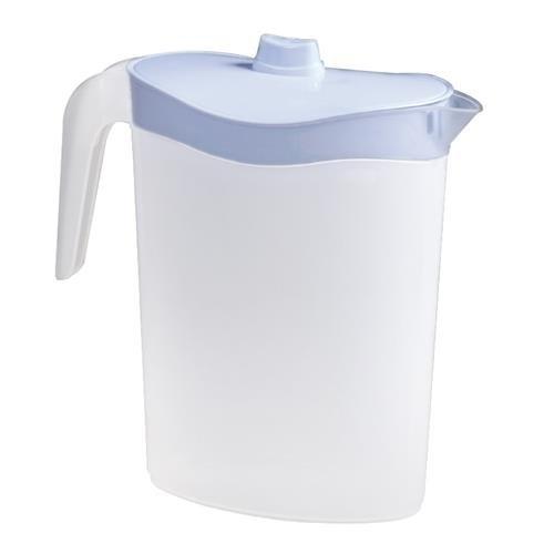 Metaltex 736125 Cruche en plastique pour porte de réfrigérateur 2,5l