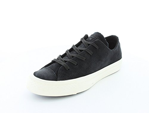 Converse Chuck Taylor All Star Homme Burnished Suede Ox, Baskets mode homme Black