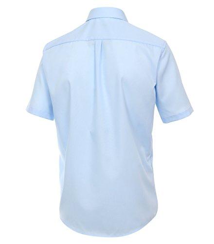 Michaelax-Fashion-Trade Camicia classiche - Basic - Classico - Maniche corte - Uomo Rot (408)