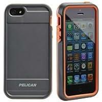 PELI Micro Case CE1150 für iPhone 5 grau/orange/grau