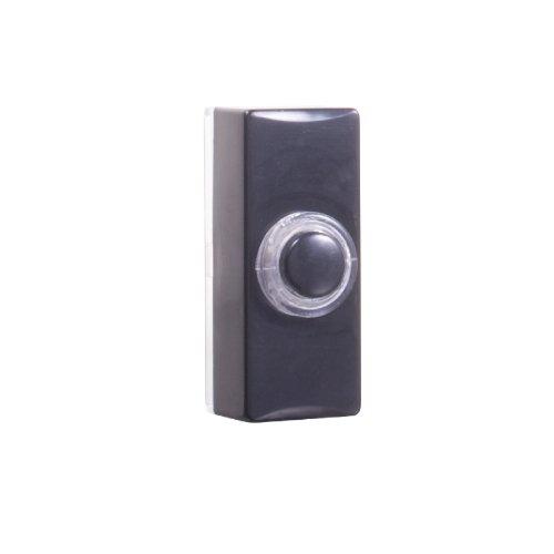 7720 Verdrahteter Universal-Klingeltaster mit Beleuchtung in schwarz