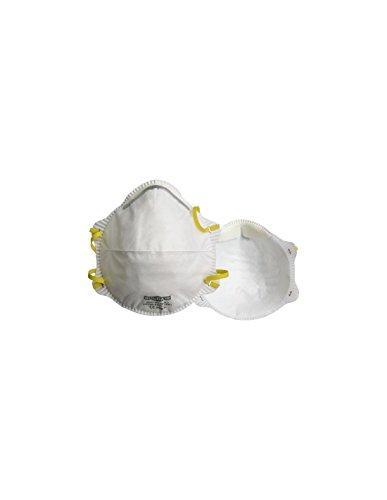 Demi-masque classique avec valve. FFP2 NR D. Boîte de 10 pièces. Singer AUUM20VSL. Taille unique