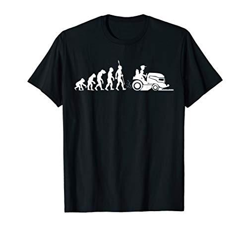 Evolution Gärtner Garten Rasenmäher Rasenmähen Fun T-Shirt