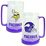 Minnesota Vikings 16oz Crystal Freezer Mug