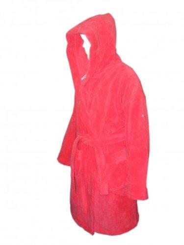 Puma Damen Bademantel BATHROBE geranium red, Damentextil abc:L