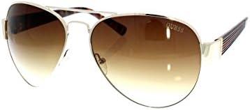 Guess Gafas de Sol GU0129F 62H73 (62 mm) Dorado