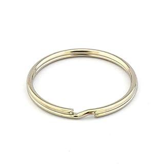 Schlüsselringe aus gehärtetem und vernickeltem Stahl - Metallring - in 18, 20, 25, 30, 35 oder 40 mm - einzeln, als 5er, 10er, 50er oder 100er Pack