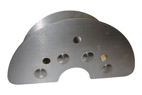Support pour flexible en acier inoxydable (2 mm) pour montage mural avec embouts de la charge les cavités tubes pour la fermer