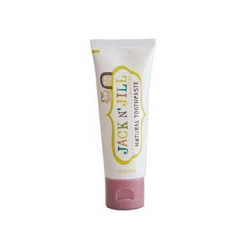Jack N' Jill Natural Toothpaste Organic 50g, Set of 3 - Raspberry
