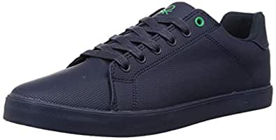 United Colors of Benetton Men's Navy Blue Sneakers-6 UK EU (19A8SNEAFW52I_904_40)