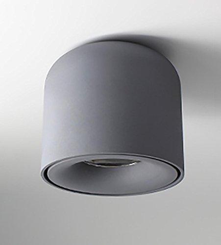 OOFAY LED Downlight Deckenleuchte Deckensegel cob Nordic Strahler Balkon 7W (lochfrei), Gray -