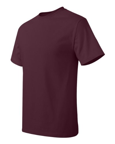 Hanes Mens T-Shirt (5250) Granatrot