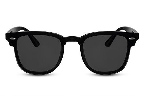 Cheapass Sonnenbrille Rechteckig Schwarz Sport-lich Stylish Outdoor UV-400 Fahrrad-Fahren Auto-Fahren Plastik Damen Herren