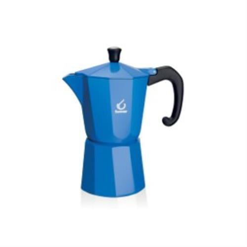 forever-kg120133-cafetera-italiana-3-tazas-color-azul
