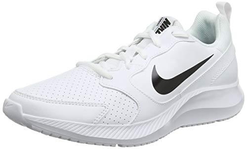 Nike Todos, Zapatillas de Entrenamiento para Hombre, Blanco (White/Black 100), 44.5 EU