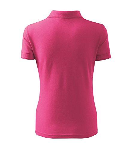 Poloshirt Polohemd für Damen Pique Polo von Adler - Größe und Farbe wählbar - Purpur