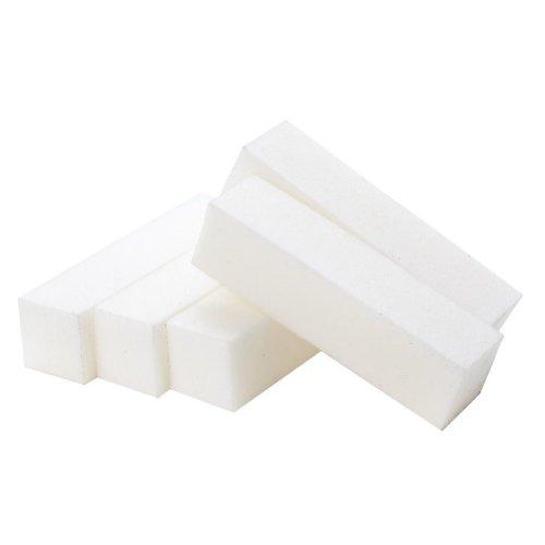 Cikuso Set 5 pieces Nail Art Blocs poncage/polissage Manucure Grains : 100/100