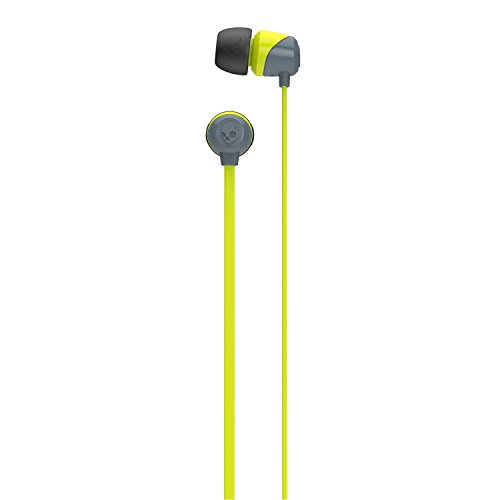 Skullcandy SCS2DUFZ-385 Jib In-Ear Headphone without mic (Lime/Gray)