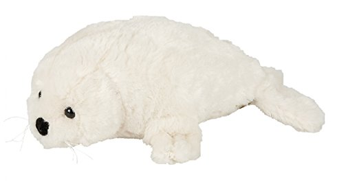 Suma Collection Medium Plush White Seal - 30 cm