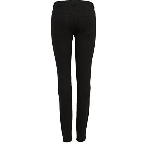 Only by JDY Damen Jeans Skinny Regular Stretch Hose Holly Schwarz Abbildung 3