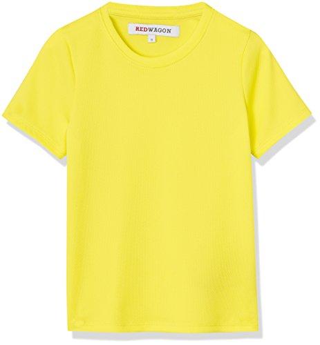 RED WAGON Jungen Superleichtes Sport T-Shirt, Gelb (Citrine), 140 (Herstellergröße: 10 Jahre) (Sport-shirt Jungen)