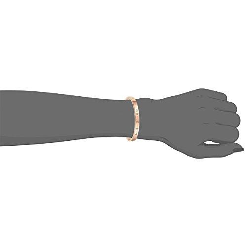 cupimatch 2pcs Herren Damen Paar Armband , Edelstahl römische Ziffern mit zirkonia Partner Armreifen Freundschaftsarmbänder, silber rosegold , Valentinstag Geschenke