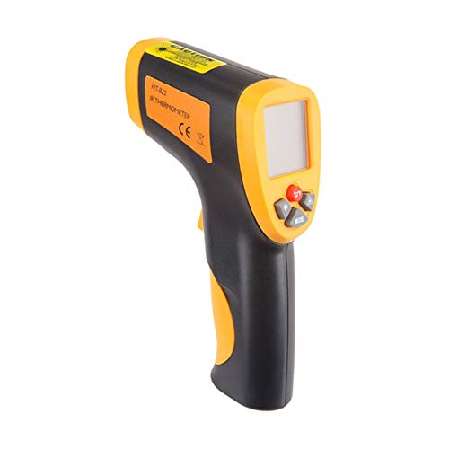 BAACHANG HT-822 Hochpräzises Handthermometer Berührungsloses Infrarot-Thermometer Berührungsloses Infrarot-Thermometer (Farbe : Gelb, Size : 160 * 86 * 46 mm) -