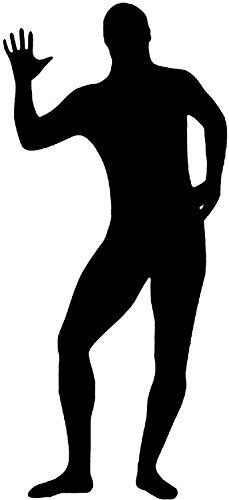 Spaßige Ganz Körper Suit Kostüme Overall Schwarz