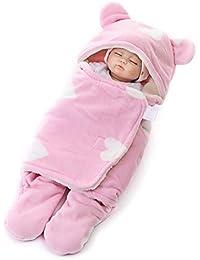 Minetom Saco De Dormir Bebés Recién Nacidos Manta para Bebé Carrito De Bebé Blanket Manta 0