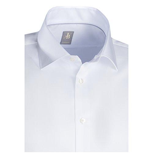 ... JACQUES BRITT Business Hemd Custom Fit 1/1-Arm Bügelleicht Uni / Uniähnlich  City