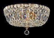 Casa Padrino Barock Kristall Decken Kronleuchter Gold 30 x H 20.5 cm Antik Stil - Möbel Lüster...