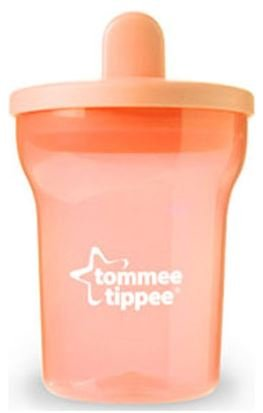 200ml Rouge Tommee Tippee Essential Basics Premier Becher 4m