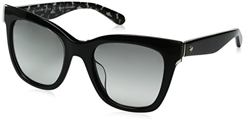 kate spade Damen EMMYLOU/S Sonnenbrille, Black Grey Pattern, 51