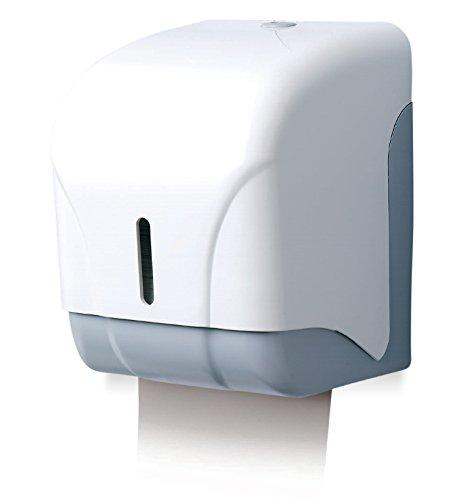 BLCP210000. Dispensador mixto pared papel higiénico doméstico y minitoallas Z ABS Blanco