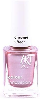 Art 2C Rise & Shine - Nagellack mit Chrom-Effekt - 6 Farben, 12 ml, Farbe: