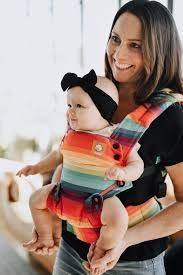 Baby Tula Explore - AFTER THE STORM - Marsupio regolabile per neonati e bambini, ergonomico, varie posizioni per 3,2-20,4 kg (rainbow)