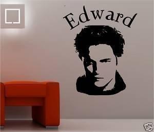 Online Design - Wandbild Edward Cullen Bild Twilight Schlafzimmer - Marineblau - Edward Cullen Design