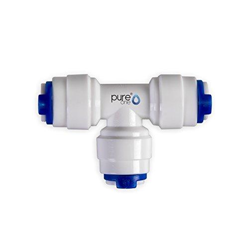 Wasser-umkehr-osmose-system (PureOne QF-09A Quick-Fitting - Schnellverbinder 1/4 x 1/4 x 1/4