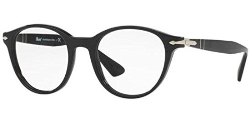 Ray-Ban 0PO3153V, Lunettes de Soleil Homme, Noir (Black), 48
